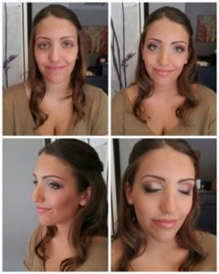Prom Makeup - Before & After