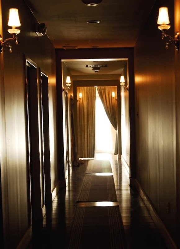 Pathway To Peace - Pure Spa hallway